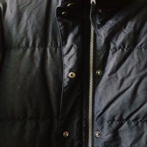 Vintage L.L. Bean Black Down Puffer Coat